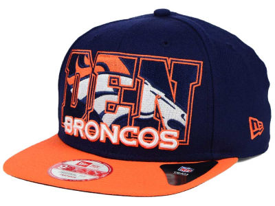 Denver Broncos New Era NFL Big City 9FIFTY Snapback Cap