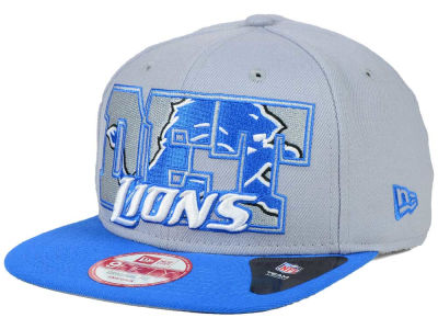 Detroit Lions New Era NFL Big City 9FIFTY Snapback Cap