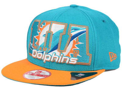Miami Dolphins New Era NFL Big City 9FIFTY Snapback Cap