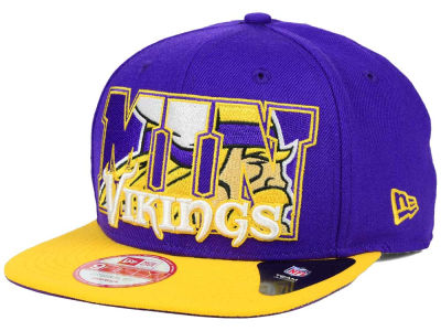 Minnesota Vikings New Era NFL Big City 9FIFTY Snapback Cap