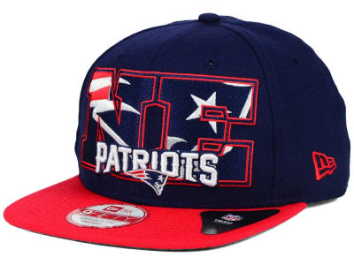 New England Patriots New Era NFL Big City 9FIFTY Snapback Cap