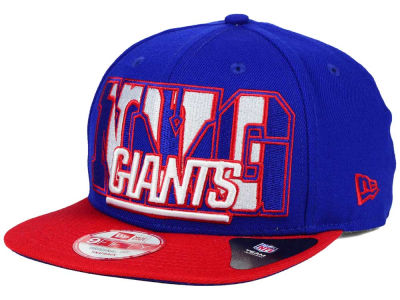New York Giants New Era NFL Big City 9FIFTY Snapback Cap
