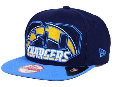 San Diego Chargers New Era NFL Big City 9FIFTY Snapback Cap