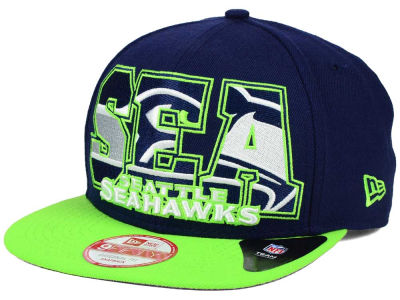 Seattle Seahawks New Era NFL Big City 9FIFTY Snapback Cap