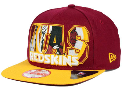 Washington Redskins New Era NFL Big City 9FIFTY Snapback Cap