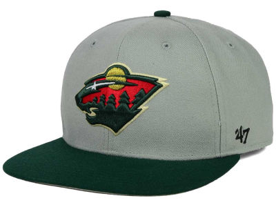 Minnesota Wild '47 NHL Sure Shot Snapback Cap