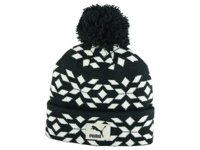 Puma Graphic Beanie Knit