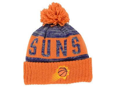 Phoenix Suns Mitchell and Ness NBA Team Color Jacquard Stripe Pom Knit