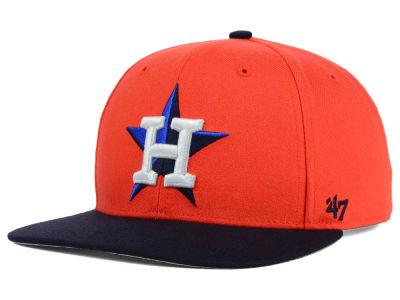 Houston Astros '47 MLB Sure Shot '47 Snapback Cap