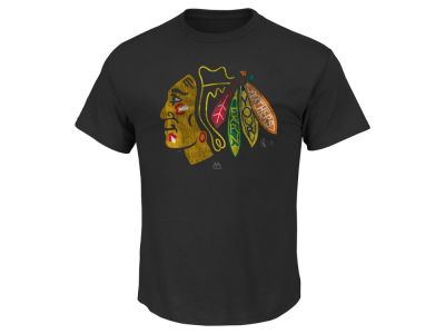 Chicago Blackhawks Majestic NHL Men's Earn Your Feathers Part Deux T-Shirt