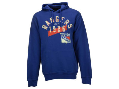New York Rangers G-III Sports NHL Men's Rookie Fleece Hoodie