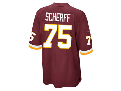 Washington Redskins Brandon Scherff Nike NFL Men's Game Jersey