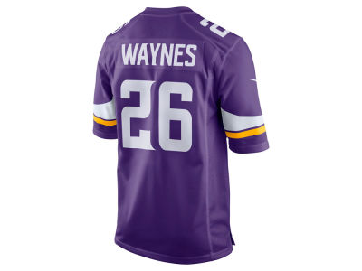 Minnesota Vikings Trae Waynes Nike NFL Men's Game Jersey