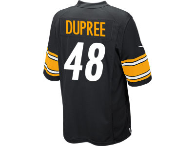 Pittsburgh Steelers Alvin Dupree Nike NFL Men's Game Jersey