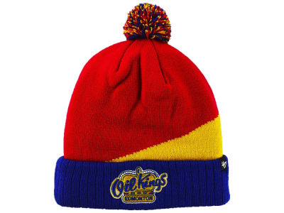 Edmonton Oil Kings '47 NHL Rockhead Youth Cuffed Pom Knit