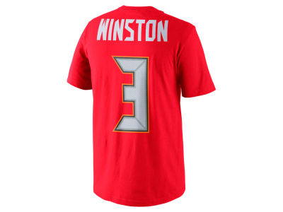 Tampa Bay Buccaneers Jameis Winston Nike NFL Men's Pride Name and Number T-Shirt
