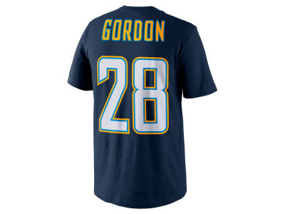 Los Angeles Chargers Melvin Gordon Nike NFL Pride Name and Number T-Shirt