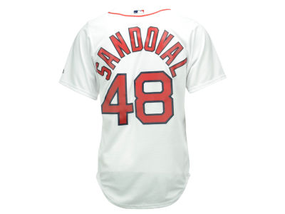 Boston Red Sox Pablo Sandoval Majestic MLB Men's Player Replica Cool Base Jersey