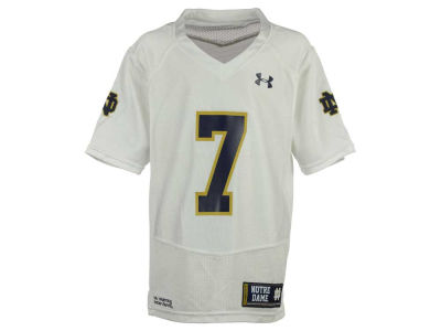 Notre Dame Fighting Irish #7 Under Armour NCAA Youth Replica Football Jersey