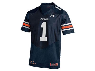 Auburn Tigers #1 Under Armour NCAA Youth Replica Football Jersey