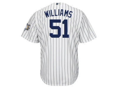 New York Yankees Bernie Williams Majestic MLB Men's Commemorative Replica CB Jersey