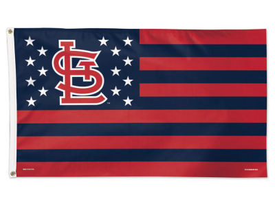 St. Louis Cardinals 3x5 Flag - Stars & Stripes