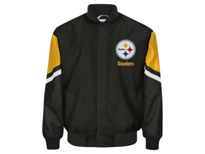 Pittsburgh Steelers GIII NFL Men's Real Hype Jacket
