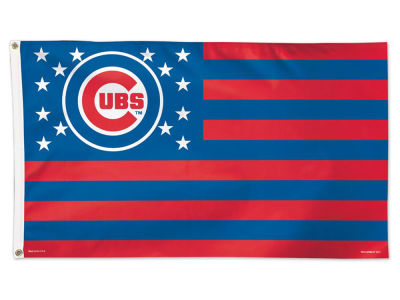 Chicago Cubs 3x5 Flag - Stars & Stripes
