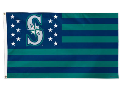 Seattle Mariners 3x5 Flag - Stars & Stripes