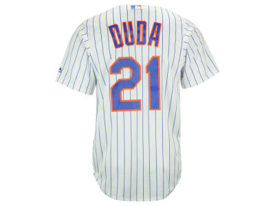 New York Mets Lucas Duda Majestic MLB Men's Player Replica CB Jersey