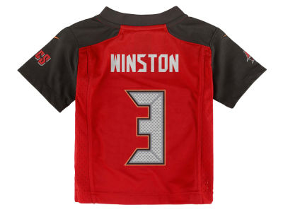 Tampa Bay Buccaneers Jameis Winston Nike NFL Toddler Game Jersey