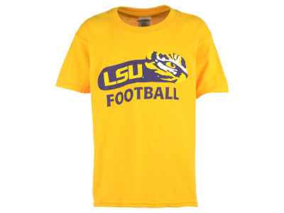 LSU Tigers 2 for $28 NCAA Youth Oval Eye Football T-Shirt