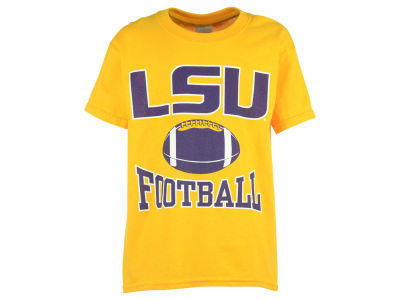 LSU Tigers NCAA Youth Football Arch T-Shirt