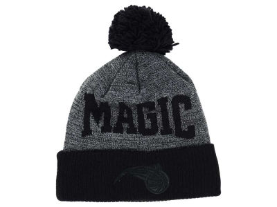 Orlando Magic Mitchell and Ness NBA Blackout High 5 Cuffed Pom Knit