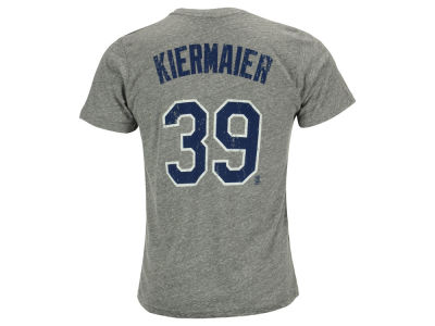Tampa Bay Rays Kevin Kiermaier Majestic MLB Men's Triblend Jersey Player T-Shirt