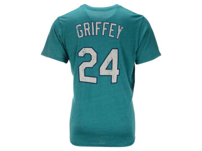 Seattle Mariners Ken Griffey Jr. Majestic MLB Men's Triblend Jersey Player T-Shirt