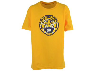 LSU Tigers NCAA Youth Tiger Head T-Shirt