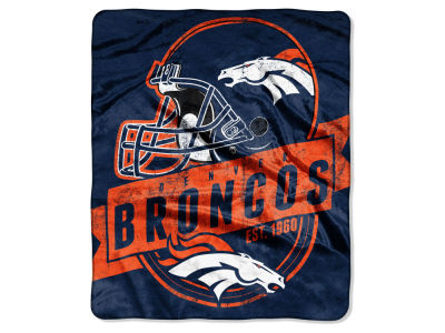 Denver Broncos Raschel 50x60 Throw