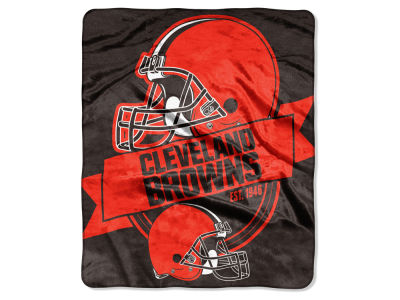 Cleveland Browns Raschel 50x60 Throw