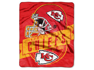Kansas City Chiefs Raschel 50x60 Throw