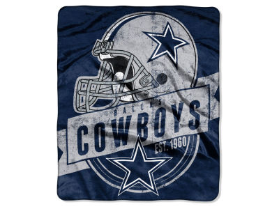 Dallas Cowboys Raschel 50x60 Throw