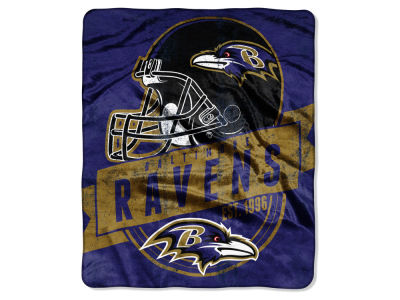 Baltimore Ravens Raschel 50x60 Throw