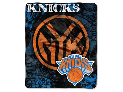 New York Knicks Raschel 50x60 Shadow Throw