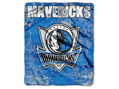 Dallas Mavericks Raschel 50x60 Shadow Throw