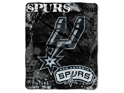 San Antonio Spurs Raschel 50x60 Shadow Throw