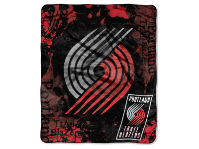 Portland Trail Blazers Raschel 50x60 Shadow Throw