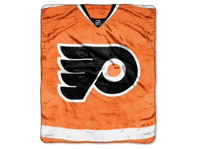 Philadelphia Flyers Raschel 50x60 Stamp Throw
