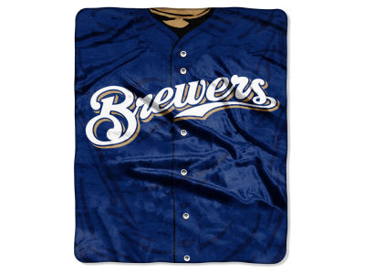 Milwaukee Brewers Raschel 50x60 Strike Throw