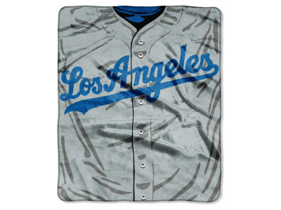 Los Angeles Dodgers Raschel 50x60 Strike Throw