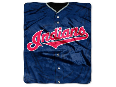 Cleveland Indians Raschel 50x60 Strike Throw